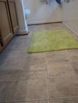 new bathroom floor!