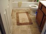 other new bathroom floor!