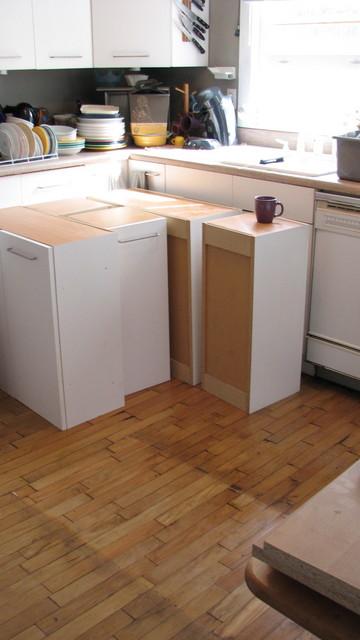 kitchen: during