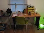 zoe's new desk