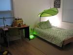 zoe's new bed