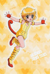 this is who zoe wanted to be for halloween this year - Purin or Pudding from the manga, Tokyo Mew Mew