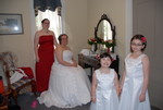 the bridal wedding party